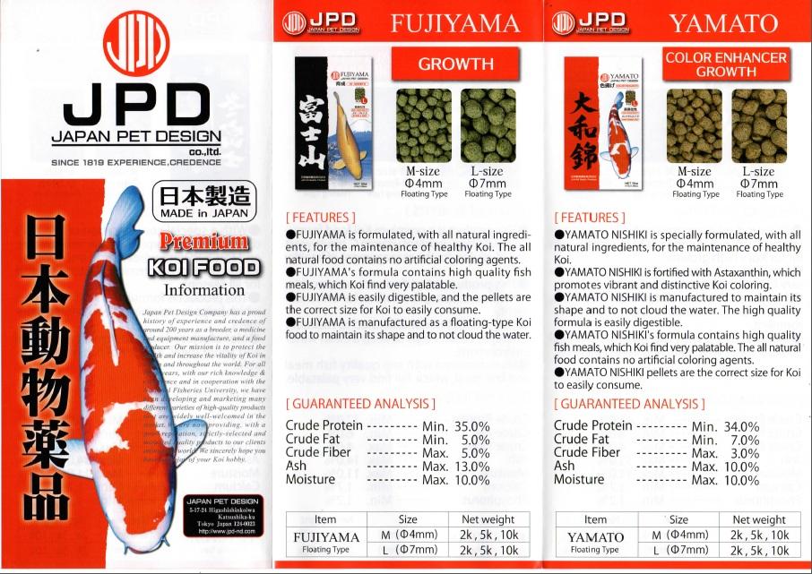 JPD Premium Koi Food