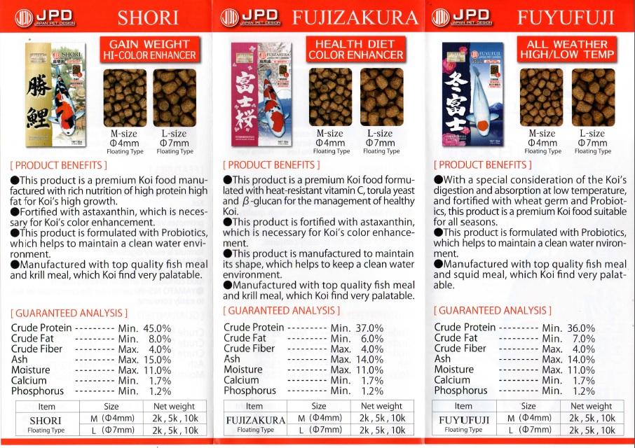 JPD Premium Koi Food2